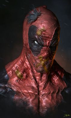 Deadpool by Adnan Ali | Fan Art | 3D | CGSociety