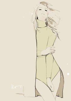 shu84: Floyd Grey Fashion Illustrations Part 2
