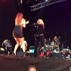 Kim in concert 2014