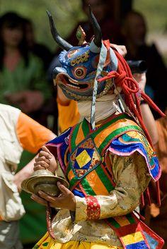 Mask Dance Bhutan