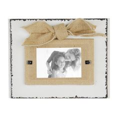 Rustic White Picture Frame, 3x5