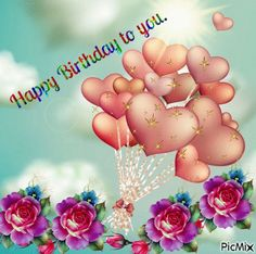 Happy Birthday Images, Happy Birthday Greetings, Good Morning Monday Images, Birthday Qoutes, Happy Cake Day, Gifs, Creations, Birthdays, Greeting Cards