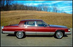 1990 Cadillac Fleetwood Brougham Sedan