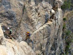 Klettersteige am Gardasee: Für Könner: Via attrezzata Monte
