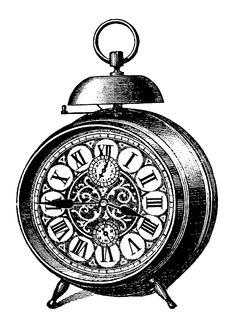 Clock - Vintage Printable