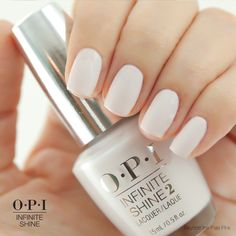 The faintest hint of pink makes this the most delicate (and wearable) shade of white.