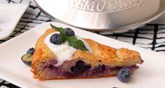 Jogurtový koláč s čučoriedkami | fitnesslicious