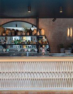 Buena Vista Hotel in Mosman, Australia by SJB | Yellowtrace Australian Interior Design, Interior Design Awards, Bar Interior, Restaurant Interior Design, Modern Interior Design, Architecture Restaurant, Modern Restaurant, Cafe Restaurant, Seafood Restaurant