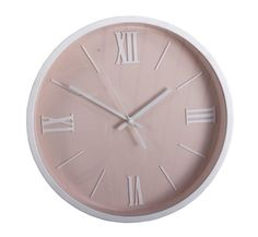 Väggklockor i retrostil - Shabby chic - Vaggur. Home Living, Pantone, Shabby Chic, Interior, Modern, Pink, Clocks, Design, Home Decor