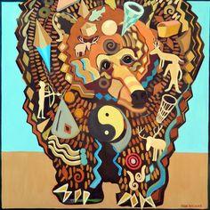 Jude Bischoff Modern Animals Spirit Bear II