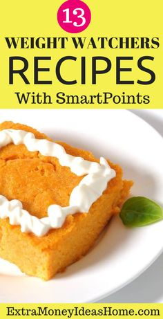 13 Ultimate Weight Watchers recipes with Smart Points. The best Weight Watchers recipes with Smart Points to help you lose weight faster and stay healthy Weight Watcher Dinners, Weight Watchers Desserts, Stay Healthy, Healthy Weight, Easy Healthy Recipes, Healthy Food, Dinner Reciepes, Breakfast Recipes, Snack Recipes
