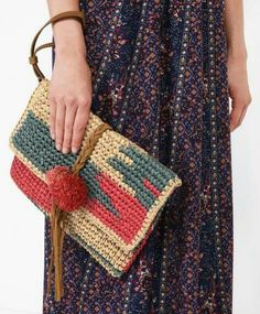Crochet Clutch Bags, Bag Crochet, Crochet Purses, Birthday Gifts For Best Friend, Best Friend Gifts, Raffia Bag, Summer 2016 Trends, Winter Trends, 2016 Fashion Trends
