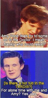 Doctor Who Humor: Matt and Kaz