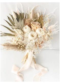 Dried Flower Bouquet, Flower Bouquet Wedding, Floral Wedding, Blush Bouquet, Fall Wedding, Bridal Flowers, Wedding Dried Flowers, Neutral Wedding Flowers, Dried Flower Arrangements