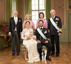 Ya están aquí los retratos oficiales del bautizo de Alexander de Suecia - Foto 1