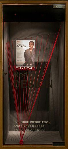 Redefining Design Window Display 2014, School of Fashion at Seneca College.