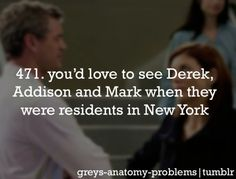 I've got Greys Anatomy Problems....