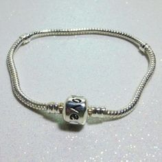 European Style Charm Bracelet Chain with by StonehouseCreations, $7.95