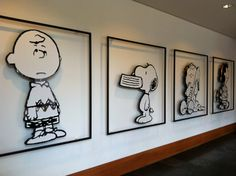Santa Rosa - Charles M. Schulz Museum - can be unexciting for the smallest visitors but enthralling for any Peanuts fan.