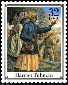 Harriet Tubman Repro of US Postage Stamp issued in 1994