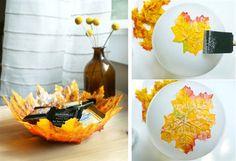 Leaf -bowl