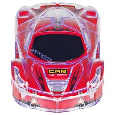 Best Choice Products Remote Control Light Up RC Racing Car Toy 27Mhz w/ Flashing LED Lights - Red