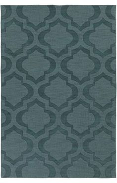 $5 Off when you share! Artistic Weavers Central Park Kate Teal Rug