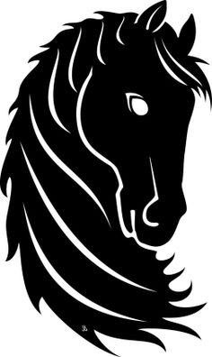 free silhouette cameo images of horse head Horse Silhouette, Silhouette Vector, Silhouette Cameo, Stencil Animal, Plotter Cutter, Scroll Saw Patterns, Horse Head, Free Vector Art, Graphic Design Art