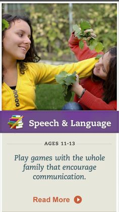 Charades and other games are great ways to encourage your tween's expression. Click for details. #SpeechandLanguage