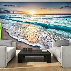 Poster  Tapeten Fototapete Wandbild Tapeten Natur Strand Ozean 11040 P8