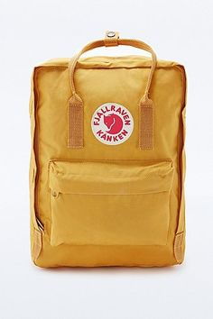 Fjallraven Kanken Backpack in Yellow - Urban Outfitters