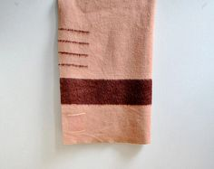 4 Point Hudson Bay Blanket by LittleDogVintage on Etsy, $85.00