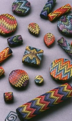 Bargello Beads - Laura Liska, 1995