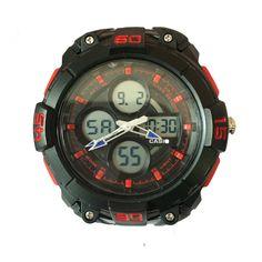 Casio G Shock In Red & Black Sport Unisex Watch #fashion, #style, #watch, #men, #women, #trend, #casio, #gshock