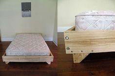 Plywood DIY Bed - Mal what do you think of this bed frame - dad could probably pull this off