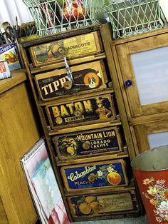 Fruit box drawers