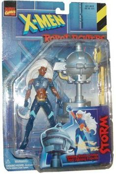 X-Men Robot Fighters Storm Long-Hair Variant Action Figure from Toy Biz by Marvel