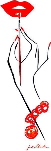 Rote Lippen machen jede Frau zur Diva! #rotelippen #lippenstift #rot #diva…