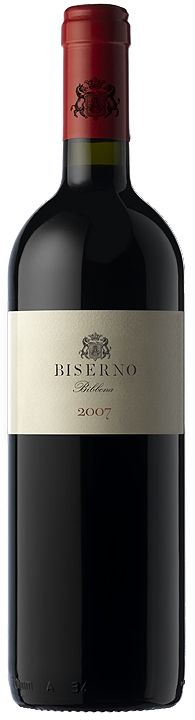 'Biserno'  In the best vintages, such as 2007 and 2008, Biserno is a wine of depth, intensity, complexity, longevity and elegance.  A thought-provoking wine which reflects the terroir and the excellent microclimate of the coastal area of the Upper Maremma. The Blend is a balance of Merlot, Cabernet Franc and a very small quantity of Cabernet Sauvignon and Petit Verdot.