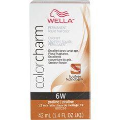Wella Color Charm Liquid Permanent Hair Color 6W Praline  $6/FS  Sally