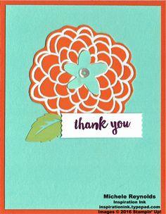 Alternate idea using February Paper Pumpkin Hello Sunshine Kit leftover pieces.  By Michele Reynolds, Inspiration Ink.  #stampinup #inspirationink #paperpumpkin #hellosunshine