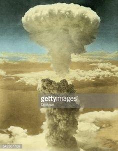 Stock Photo : Atomic Bombing of Nagasaki