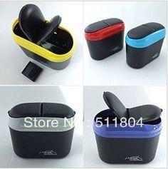 Eco-friendly Auto Glove Box, Car Trash Bin/ Dustbin/ Garbage Case/ Rubbish Bucket/ Waste Barrel Interior Accessory (2 pcs/Lot )(China (Mainl...
