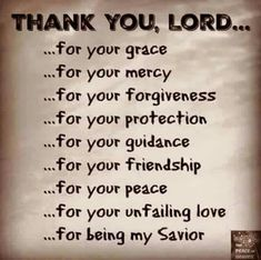 178 Best Thank You Lord For Everything images in 2019
