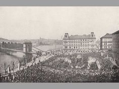Prague Photos, Praha, Czech Republic, Louvre, Building, Travel, Historia, Viajes, Buildings