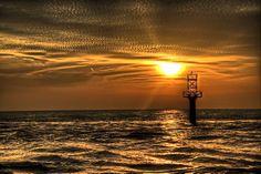 Channel Marker @ sunset