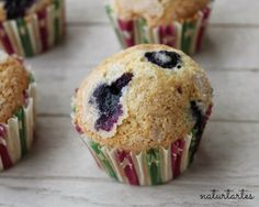 Magdalenes de nabius o muffins d'arándanos!!