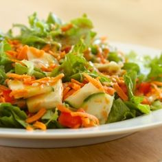 Ginger Miso Dressing and Green Salad | GI 365