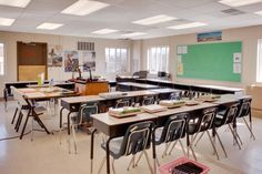 #Louisa County #Classroom. In just three months M SPACE constructed a 127,000 square foot temporary modular high school for Louisa County to help with their earthquake recovery efforts.