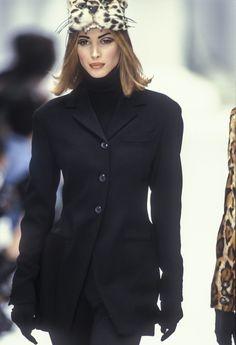 Christy Turlington  Complice RTW F/W 1992